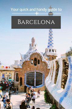 Quick Barcelona Travel Guide