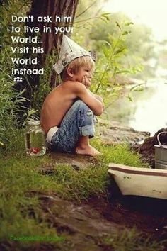 Let your children BE children as long as they can be! Childhood is critically important! You need to be the adult and let them enjoy their childhood. Book Infantil, Activities To Do, Parenting Quotes, Belle Photo, My Children, Healthy Children, Kids Boys, Children Photography, Little Boy Photography