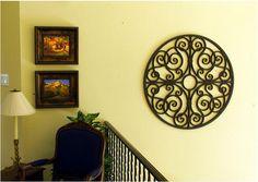 Faux Wrought Iron - wall decor.