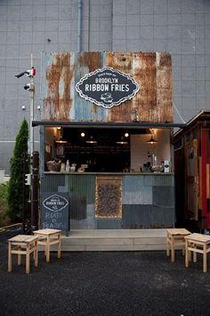 資料 Cafe Shop Design, Cafe Interior Design, House Design, Restaurant Concept, Restaurant Design, Palet Exterior, Container Coffee Shop, Container Restaurant, Small Coffee Shop