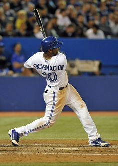 "A "" bucket list"" item that i want to meet Edwin Encarnacion because he is who I look up to. Sports Baseball, Baseball Players, Baseball Stuff, Baseball Season, Blue Jay Way, Go Blue, American Sports, American League, Blue Jays Game"