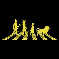 Abbey Road - The Beatles - Yellow Brick Road - Wizard of Oz