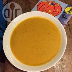 Pumpkin Soup (Amerikanische Kürbissuppe) @ de.allrecipes.com