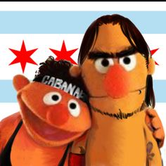 Colt Ernie and CM Bert! Lmao!! whoever did this I love you