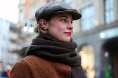 Moda en la calle en Berlín. Diciembre de 2013 © Olga Sicilia