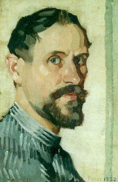 Pierre Adolphe Valette (French 1876–1942) [Impressionism] Self-portrait, 1922.