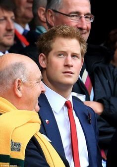 Prince Harry  England v Australia - QBE International , Novembre 2013