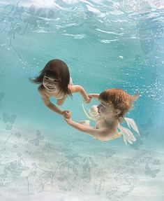 Underwater photography by Zena Holloway. Inspired by The Waterbabies, an original fairy tale by Charles Kingsley about a young boy who makes an extraordinary underwater adventure to a magical ocean world with fairies and sirens. Underwater Images, Underwater Photographer, Underwater Photos, Water Photography, Photography Portfolio, Film Photography, Street Photography, Landscape Photography, Fashion Photography