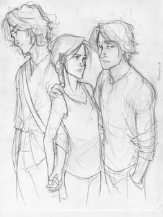 Gale? or Peeta? by *burdge-bug on deviantART I just love the poses