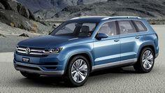 Volkswagen CrossBlue Plug-in Diesel Hybrid Concept