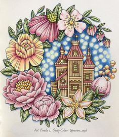 Finally Friday ☺️ Hope you will have a great weekend! I will be cleaning and helping my friends that are finally moving here  What will you be doing? This beautiful coloring is made by @morena_vajak in #sagorochsägner :) #coloring #coloringbook #coloringforadults #coloringbookforadults #målarbok