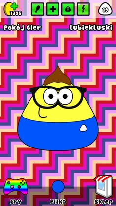 Sweet pou in my phon