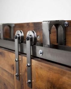 Add style and personality to your home with handcrafted barn doors, barn door hardware kits, track systems & more! Choose custom colors, finishes & textures!