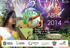 """Se aproxima la """"II Fiesta Provincial del Mate y la Amistad"""" #VamosParaAdelante"""