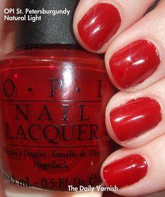 Gotta love the red nail polish!!!