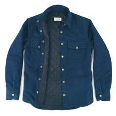 The Task Jacket in Indigo Canvas: Featured Product Image