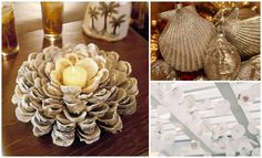 sea shell crafts that don't make you an old lady- love this blog