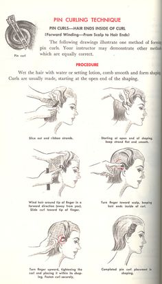 How to form pin curls | by nurse_marbles