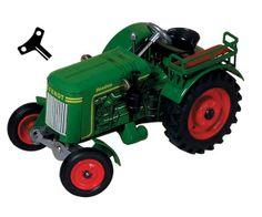 Tractor de cuerda FENDT Favorit 20  #momamini #juguetes #miniaturas #coleccionismo #tractor #tractorcuerda #retro #tractorfendt