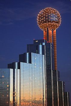 Dallas.  I can never remember what the damn ball is for, but it's really pretty.