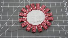 """Image result for 1""""folded ribbon cockade how to"""