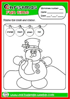 ESLCHALLENGE - English teaching resources - CHRISTMAS FUN TIME PACKAGE http://eslchallenge.weebly.com/packs.html
