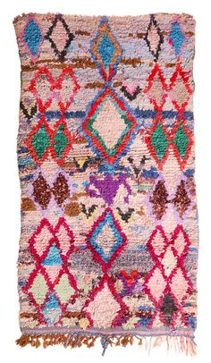 Gorgeous Boucherouite rag rugs from Morocco