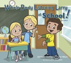 """When we tell kids to """"pay attention"""" we expect them to look at us, keep still, think about what is being said, etc. In other words, we expect them to """"listen with their whole body"""". However, do we ever explicitly teach them this expectation"""