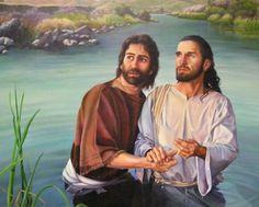 John the Baptist and the Savior