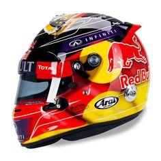 Vettel German Grand Prix Helmet opposite side