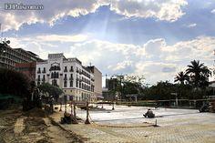 Hundimiento de la Avenida Colombia, en el centro de Cali, está en su recta final.  La obra presenta un avance del 94%. En un mes se publican pliegos para concesión. En abril de 2013 estaría lista.