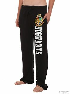 Harry Potter Hogwarts Men's Pajama Pants - StudentRate