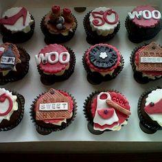 50th birthday cupcake order by Daniellerosemakes