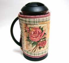 SALE - Floral Coffee Pot Cozy - Free shipping on Additional Items. $10.00, via Etsy.