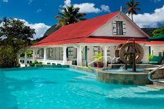 La Dauphine Estate & Villa Beach Cottages - Soufrière, St. Lucia - Click image for more information.