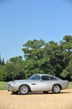 Winner of the 2005 Tour Auto Regularity Class,1961 Aston Martin DB4GT Coupé…