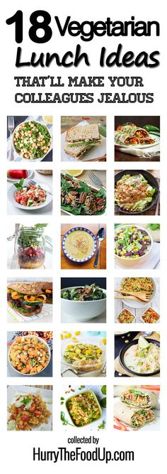 18 Vegetarian Lunch Ideas That Will Make Your Colleagues Jealous - Healthy Life Diet Lunch Ideas, Lunch Snacks, Clean Eating Snacks, Lunches, Diet Snacks, Vegetarian Lunch Ideas For Work, Lunch Box Ideas For Adults Healthy, How To Become Vegetarian, Easy Work Lunch Ideas