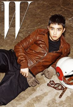 EXO D.O - W Korea Magazine July Issue '16