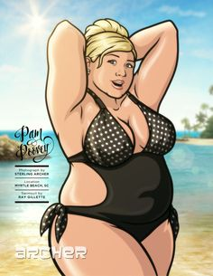Archer pam poovey cosplay hot girls wallpaper