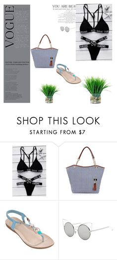"""""""Ready for beach - Rosegal 10"""" by n-lejla ❤ liked on Polyvore"""