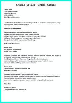 Resume For Bus Driver Resume Cv Cover Letter