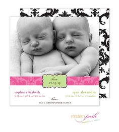 Birth Announcements, Photo Cards and Invitations from The Paper Cottage