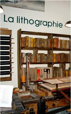 Musée du Cartonnage et de l'imprimerie (Printing and Box Making Museum), Valréas, Provence, France  (www.fantasticprovence.com English)