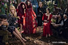 dolce gabbana 2014 fall winter campaign3 Claudia Schiffer, Bianca Balti Star in Dolce & Gabbanas Fall 2014 Campaign