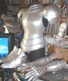 How to make Anime Cosplay Armor Costume using styrene