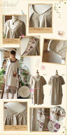 #Smock #Dress #Mori