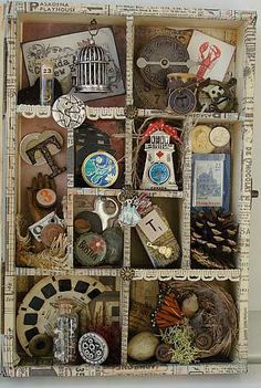 """Tim Holtz Configurations 6.75 x 8.75"""" TH92884 - Tim Holtz Idea-ology - Shadowboxes & Page Displays"""