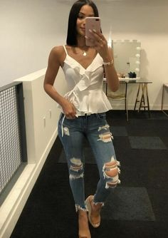 Cute Casual Outfits, Summer Outfits, Dress Outfits, Fashion Outfits, Look Fashion, Ideias Fashion, Clothes For Women, Summer Pants, Casual Summer