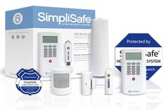 "With a wireless burglar alarm system such as SimpliSafe (simplisafe.com), you just ""peel and stick"" the motion detectors, door-opening sensors, and keypads into position, and they'll sync wirelessly. You can also get smoke and carbon monoxide alarms—and operate the system remotely from a smartphone app. A cellular connection transmits a signal to a call center for 24/7 monitoring, all for about $15 a month. 