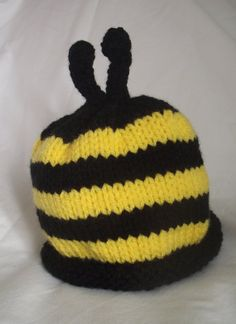 Children & Baby Beanie Hat   Buzzy by Quintessentialcraftz on Etsy, €12.00